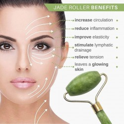 JR01= (  Jade Face Roller ,  Anti Wrinkle   Slimming Face Massager )