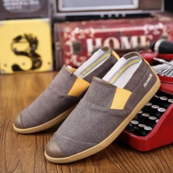 MCD-01= Mens Casual  Canvas Denim Shoes