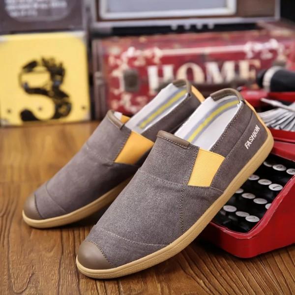 MCD-01= Mens Casual  Canvas Denim Shoes