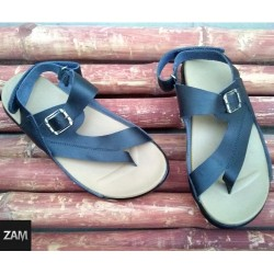 SR-02 = Handmade Leather Flip Flops Sandals