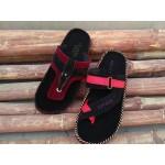 VEL01=  velvet soft casual  Flip Flops Summer Slipper