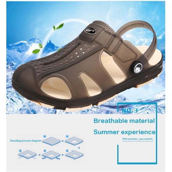 WR12  =Imported Waterproof 2 in 1 slipper sandal  -  * free artical Ramdam  size / clour