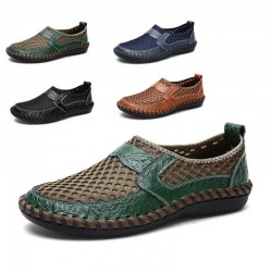 N-01 =  Moccasins Italian Breathable *( Slip on Boat Shoes )