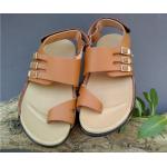 SR-01 = Handmade Leather Flip Flops Sandals .