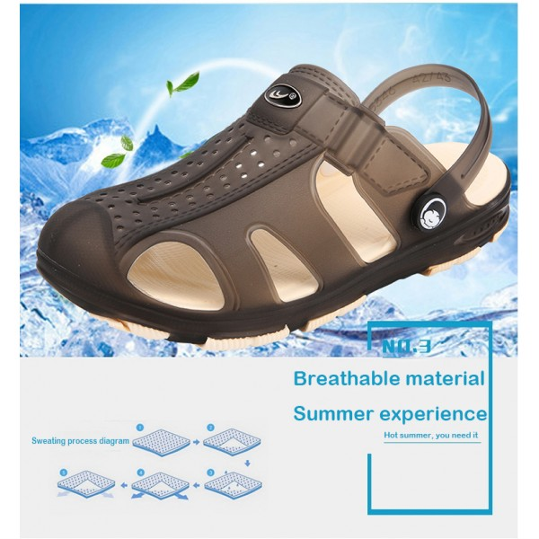 WR12  =Imported Waterproof 2 in 1 slipper sandal  -